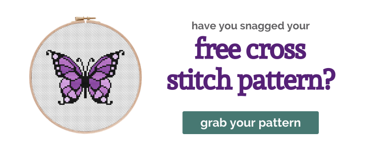 Free Cross Stitch Pattern from Purple Leaf Designs