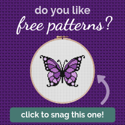 Snag this Free Cross Stitch Pattern