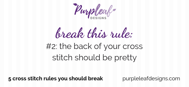 Break This Rule #1: The Back Should Be Pretty