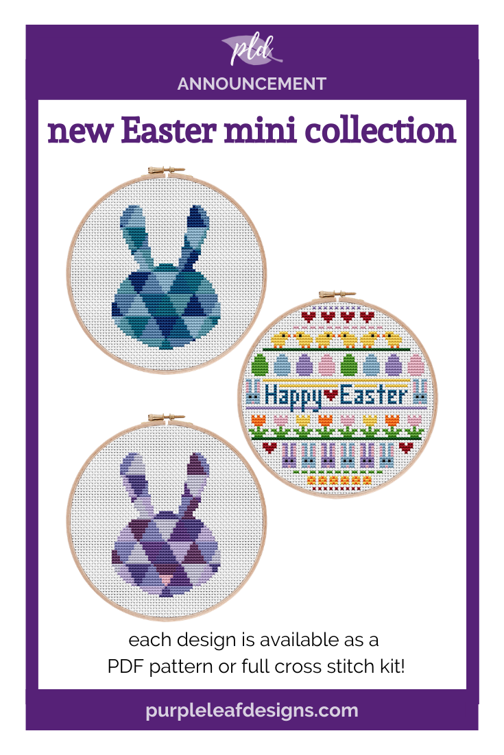 Easter Cross Stitch Mini Collection