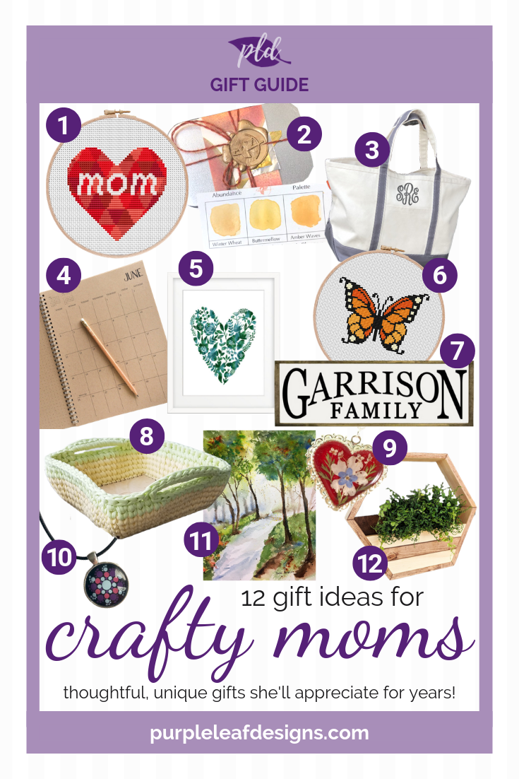 12 Gift Ideas for Crafty Moms - Mother's Day Present Ideas