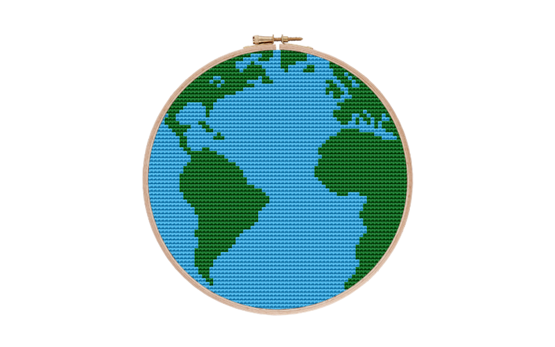 Mother Earth Cross Stitch Pattern