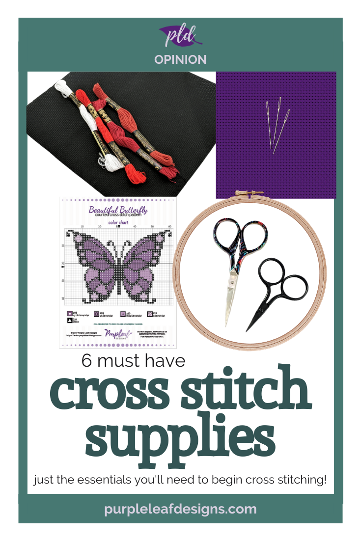 The Essential Cross Stitch Supplies