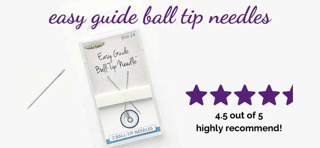 Easy Guide Ball Tip Needles: Highly Recommend
